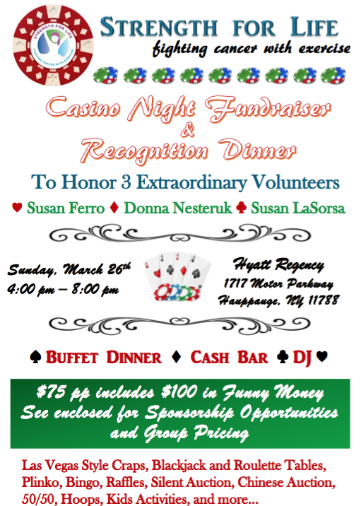 Annual Recognition Dinner and Fundraiser
